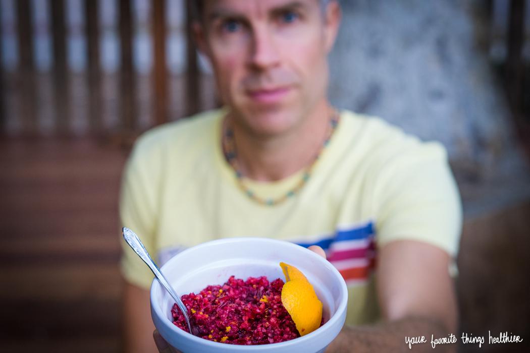 Z's Cranberry Sauce  / @YFTHlifestyle #cranberrysauce #holidays